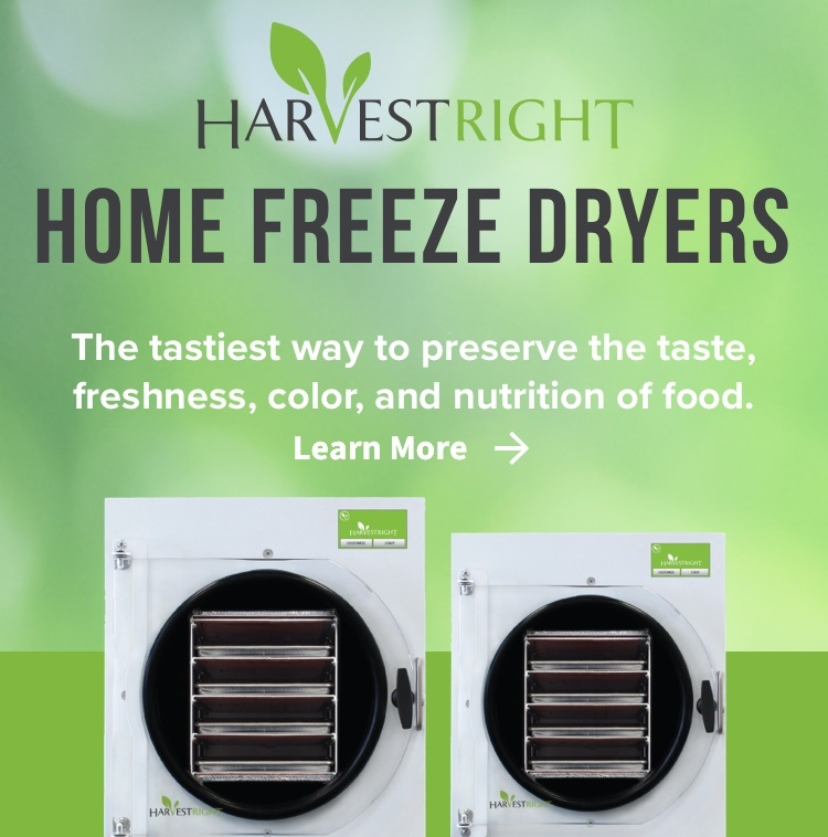 Harvest Right Home Freeze Dryers