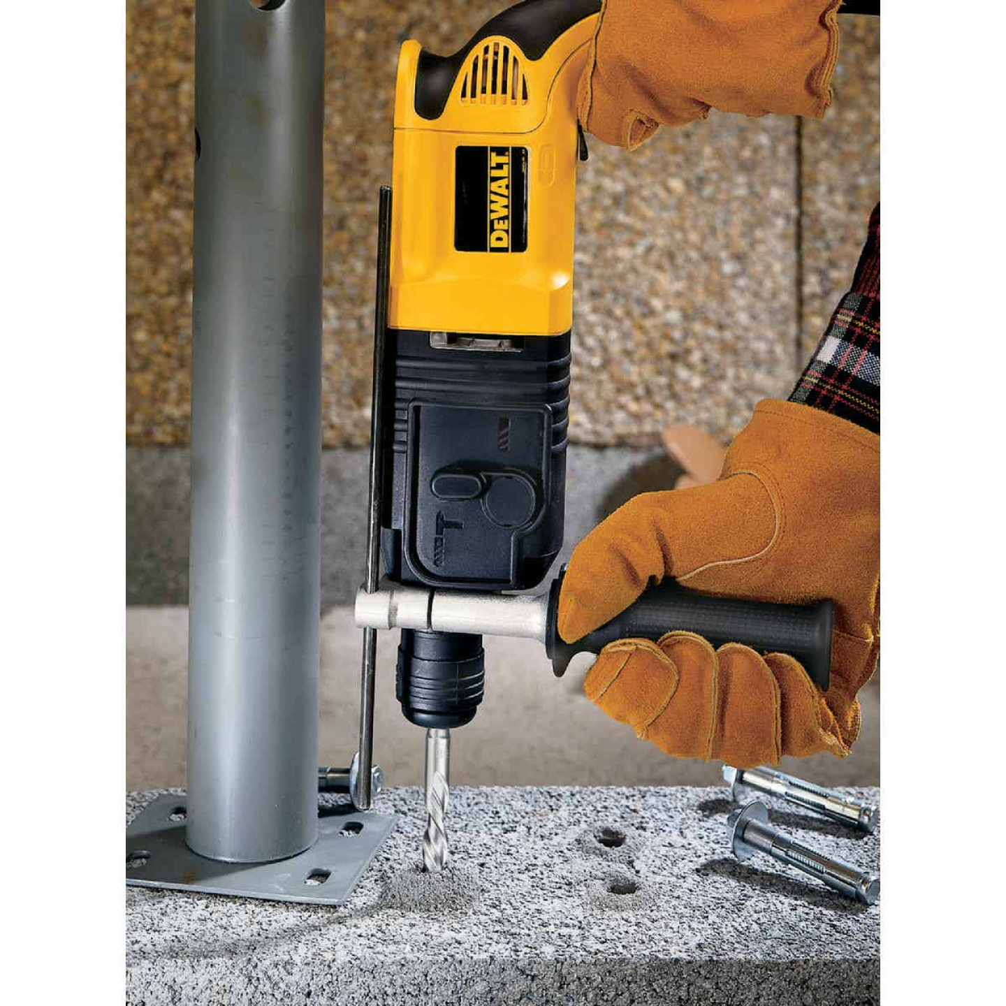 DeWalt SDS-Plus 1/2 In. x 6 In. 2-Cutter Rotary Hammer Drill Bit Image 2