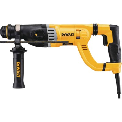 DeWalt 1-1/8 In. SDS-Plus 8.5-Amp D-Handle Electric Rotary Hammer Drill