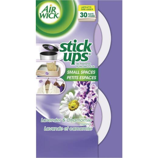 Air Wick Stick Ups Fresh Water Small Spaces Solid Air Freshener (2-Count)