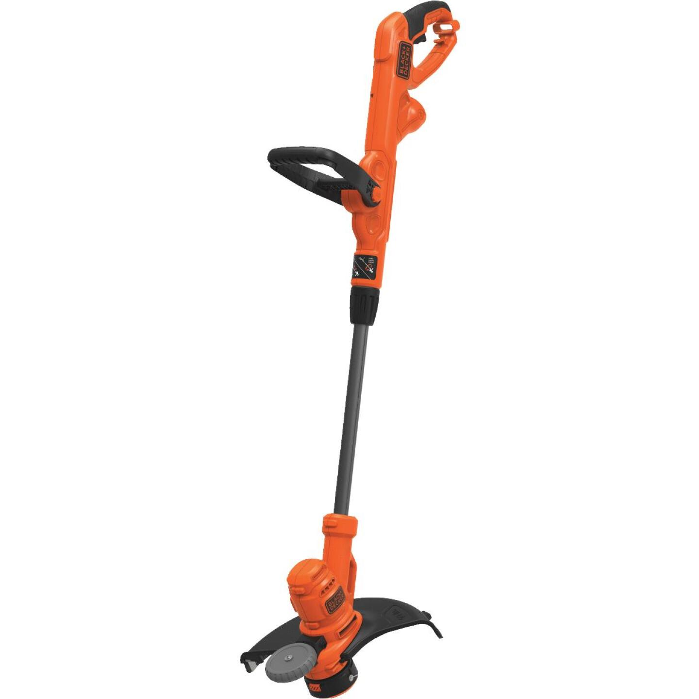Black & Decker 14 In. 6.5-Amp Straight Shaft Corded Electric String Trimmer Edger Image 1