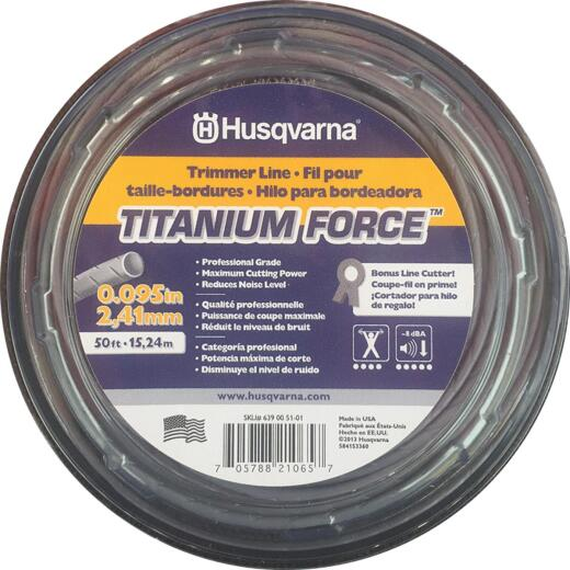 Husqvarna Titanium Force 0.095 In. x 50 Ft. Trimmer Line