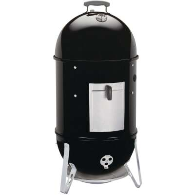 Weber Smokey Mountain Cooker 18 In. Dia. 481 Sq. In. Vertical Charcoal Smoker
